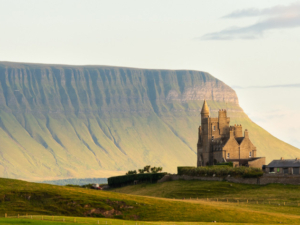 Classiebawn Castle and Benbulben