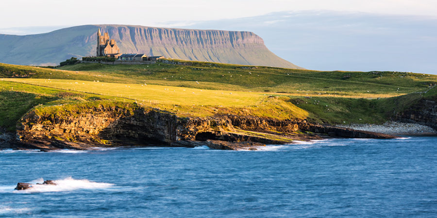 Mullagmore and Benbulben in Sligo