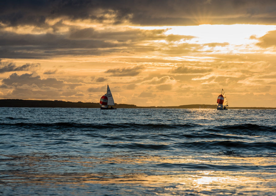 Sailing at Rosses Point