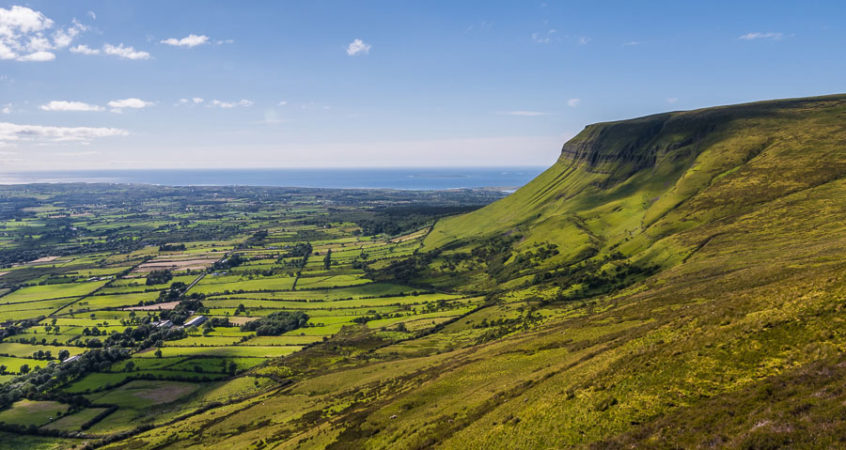 Benbulben from Kings Mountain