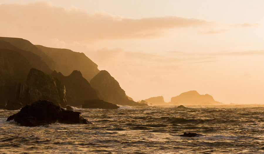 Port at Sunset, Donegal