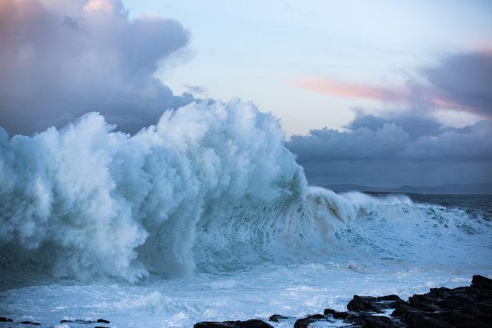 Wild Atlantic Waves, Ballyconnell, sligo