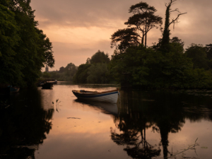 Dusk at Doorley Park in Sligo
